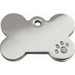 MEDAILLES CHIEN CHAT LAITON - INOX