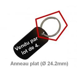 Anneaux (Ø 24,2 mm) en acier