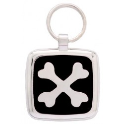 MEDAILLE CHIEN CHAT PAWPRINT