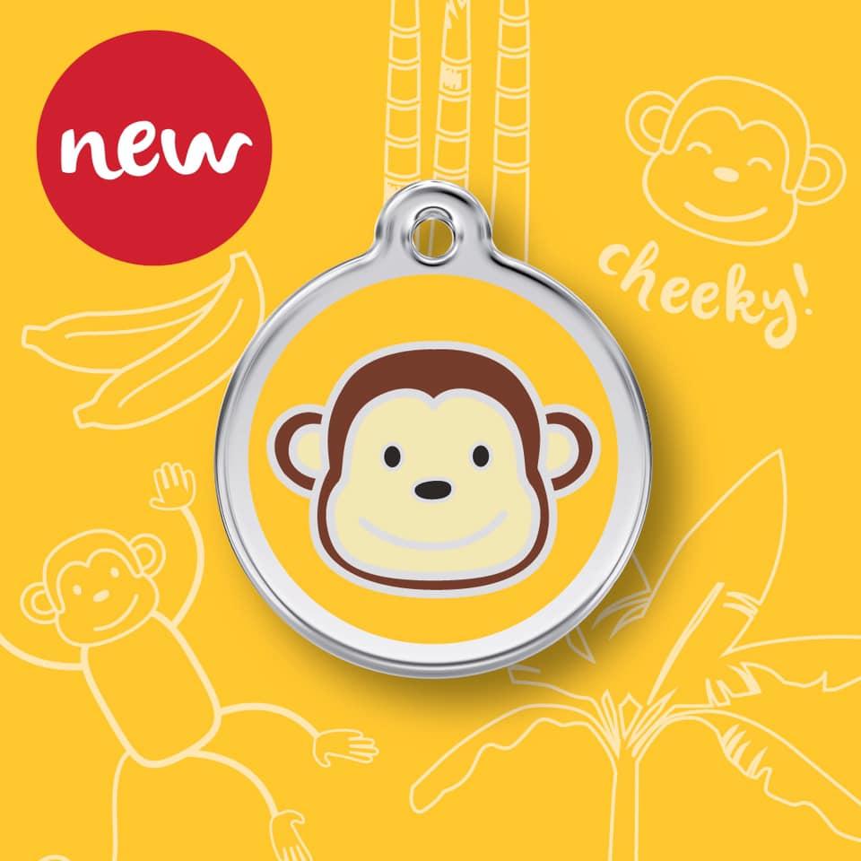 Médaille monkee nouveau modèle pour chien et chat