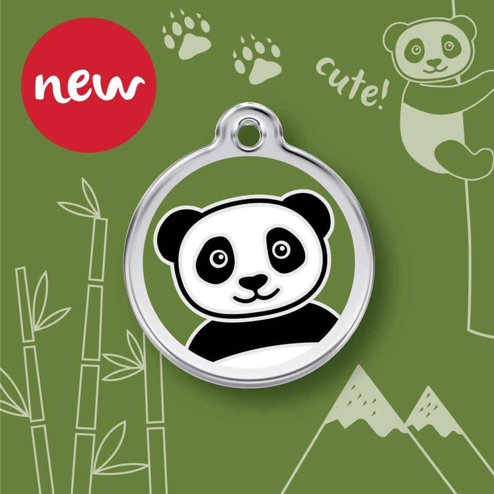 Médaille panda nouveau modèle pour chien et chat